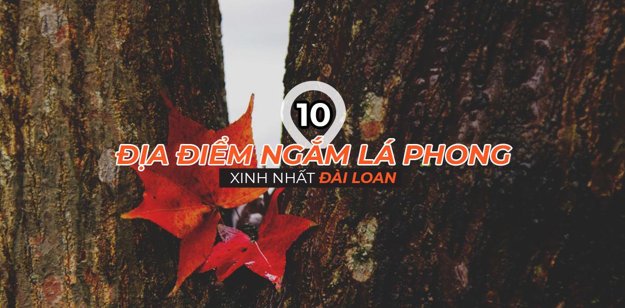 Top 10 địa điểm ngắm lá phong mùa thu cực kỳ lãng mạn ở Đài Loan 1