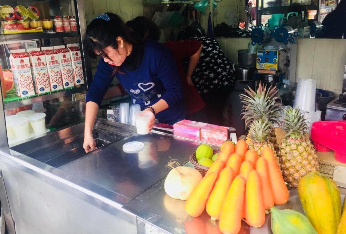 tiệm bán nước ép hoa quả chao lin fresh juice