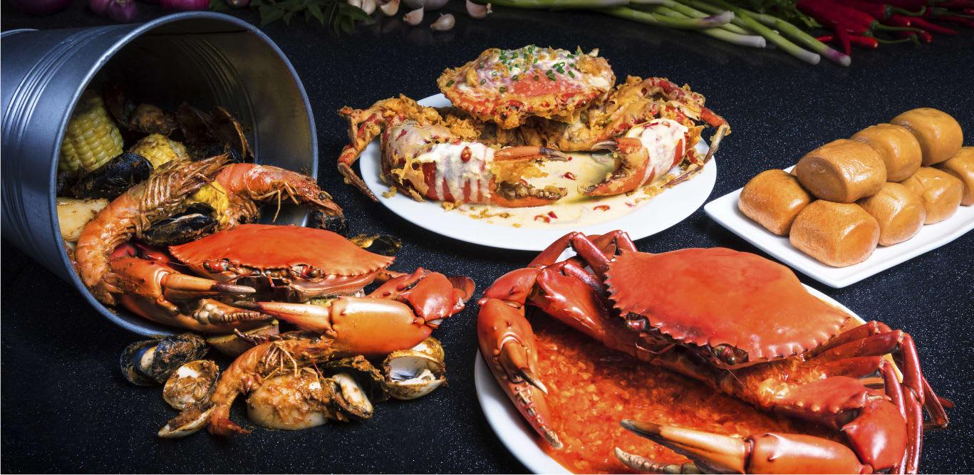 ăn hải sản tại nhà hàng sessions