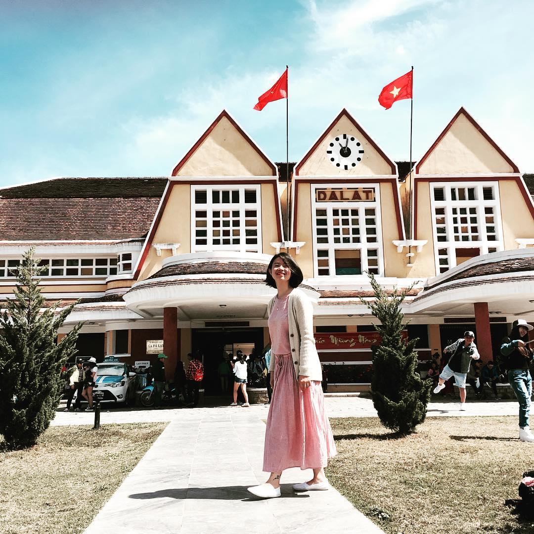 ga đà lạt là một trong những địa điểm check-in tại việt nam