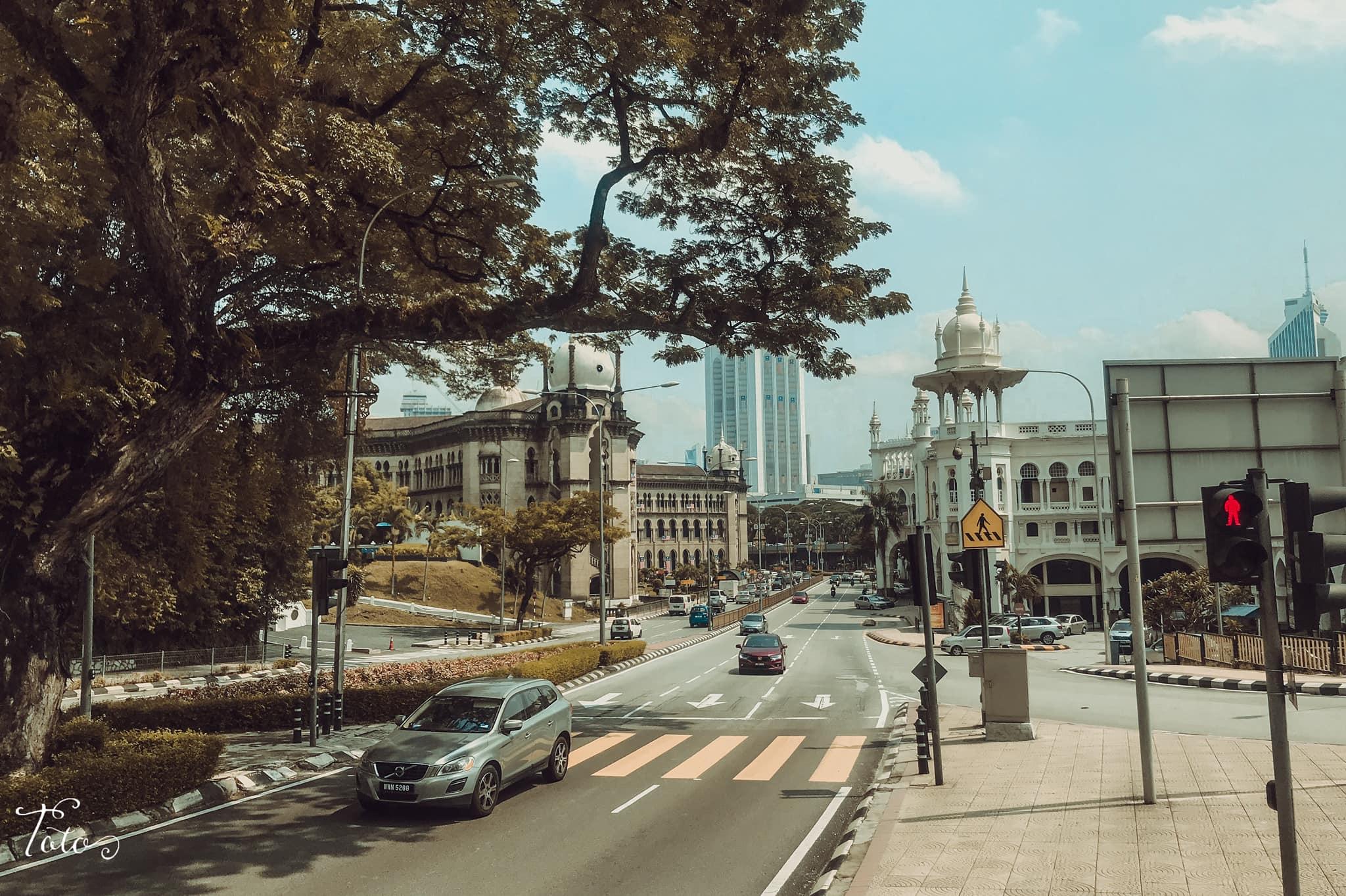 đường phố malaysia