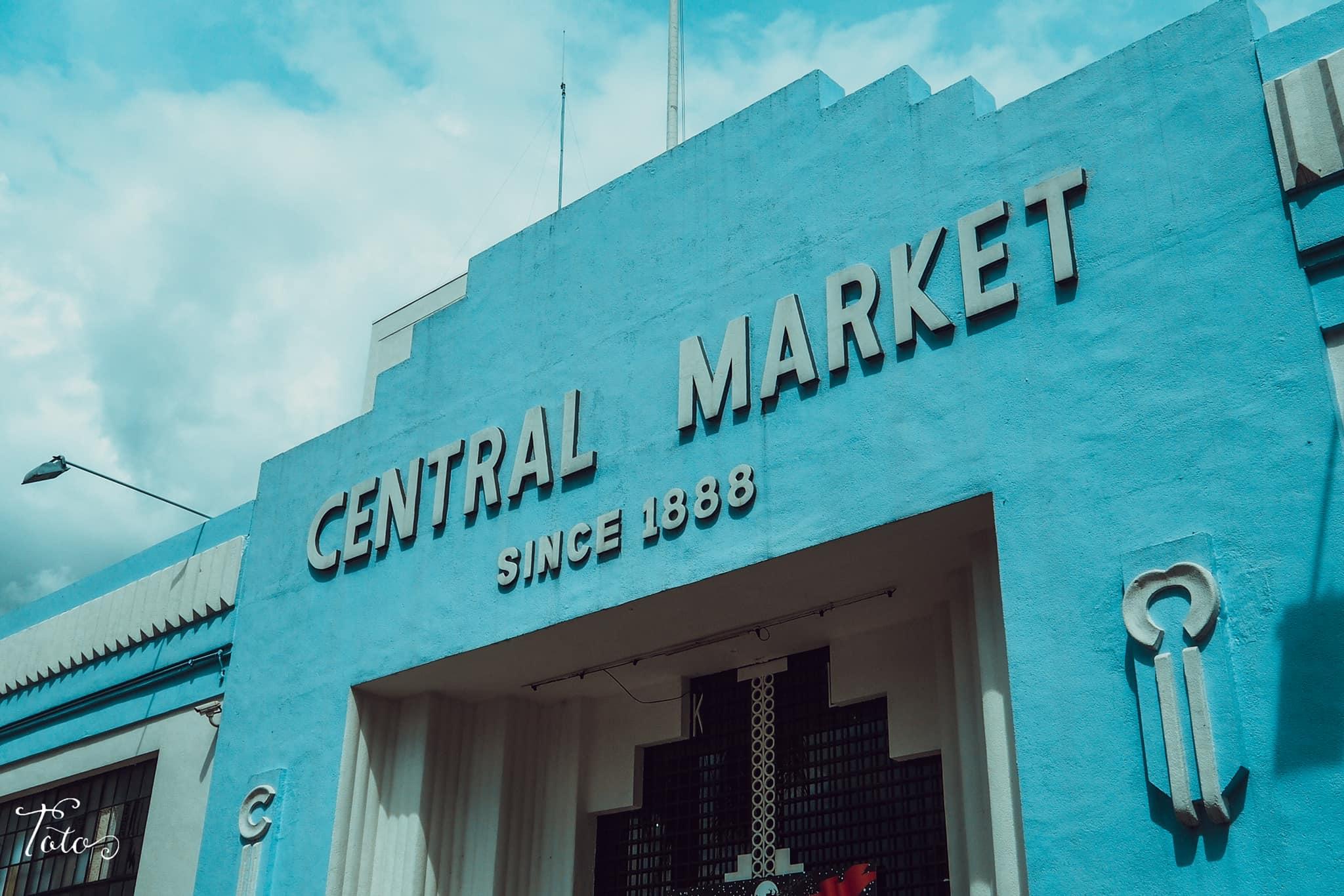 cổng central market