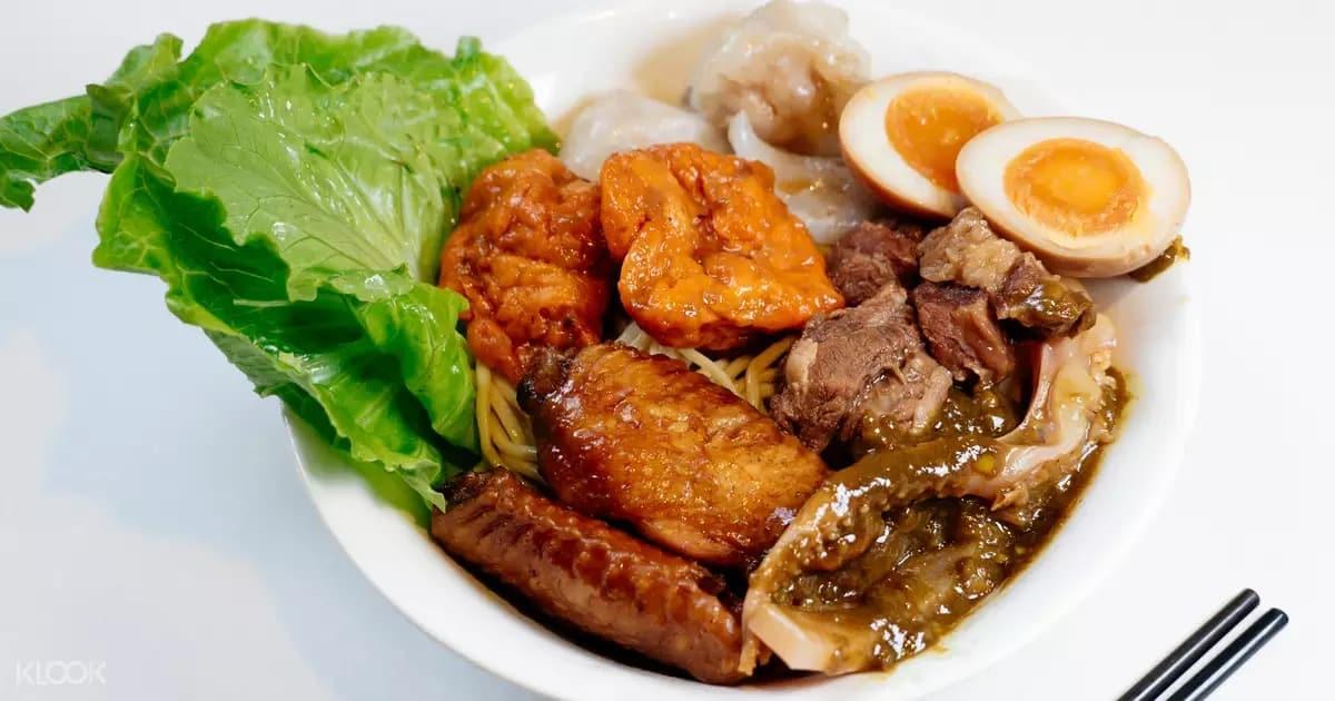 mì hong kong tại Ming Ming Cart Noodles Bar