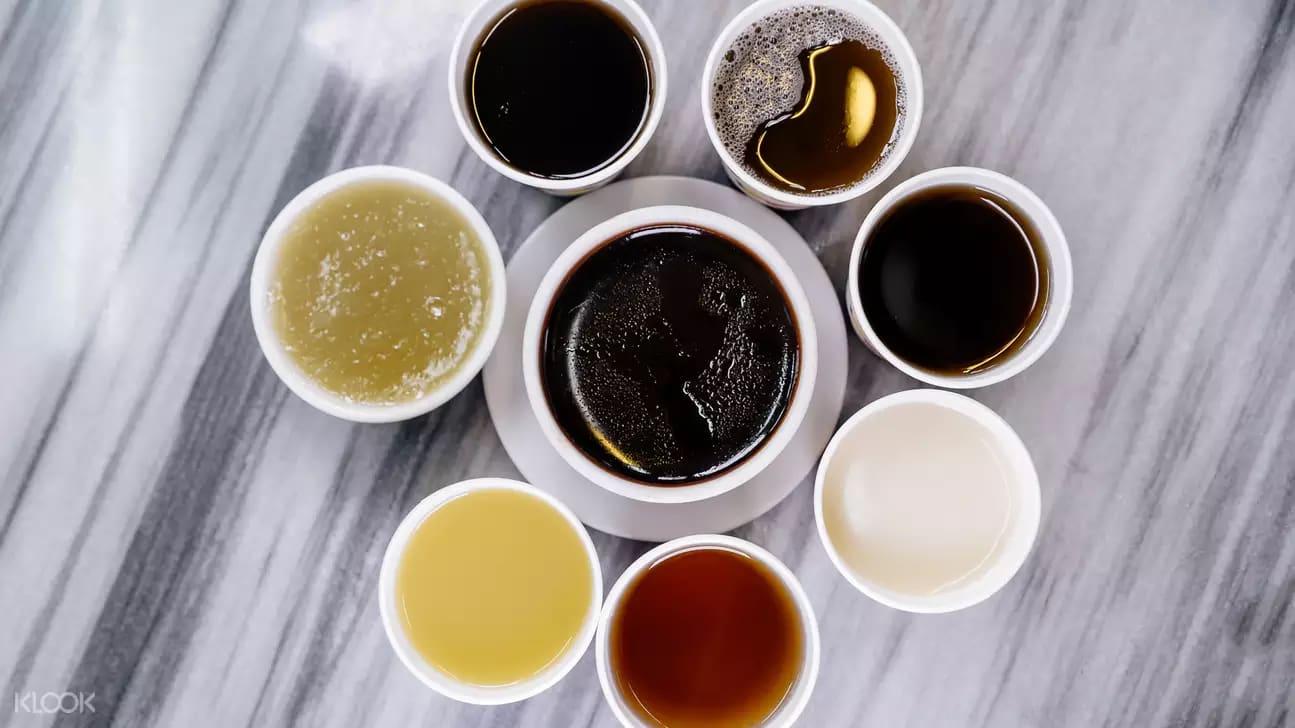 các loại trà thảo mộc tại Kung Lee