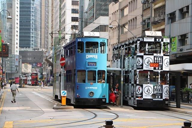 xe điện hong kong