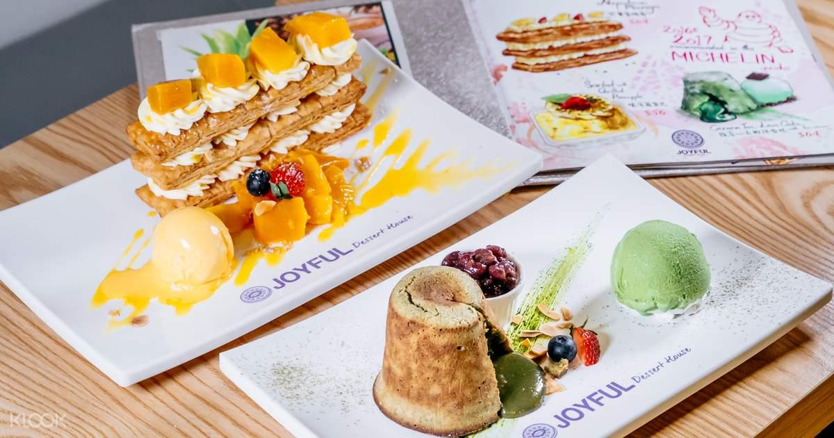 bánh lava tại Joyful House Dessert