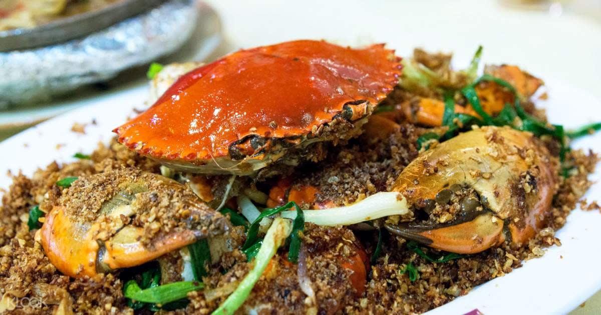 món cua tại Under the Bridge Spicy Crab