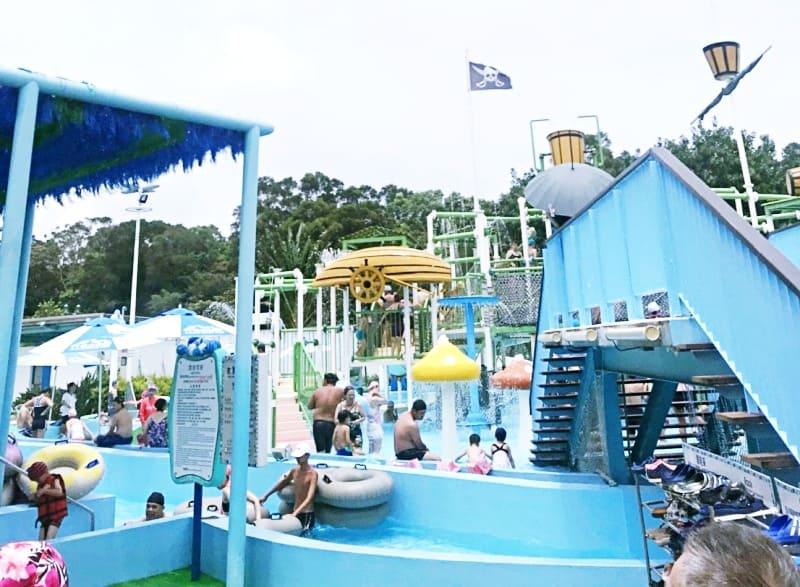 khu vực công viên nước leofoo village