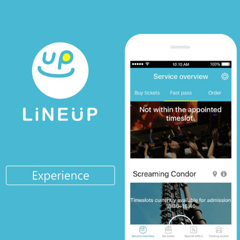 ứng dụng line up