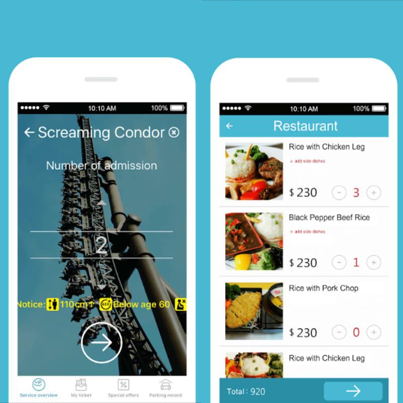 hướng dẫn sử dụng app line up