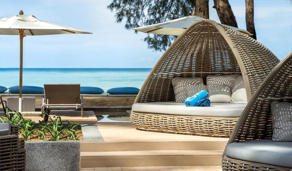 chòi nghỉ mát tại Resort Twinpalms Phuket