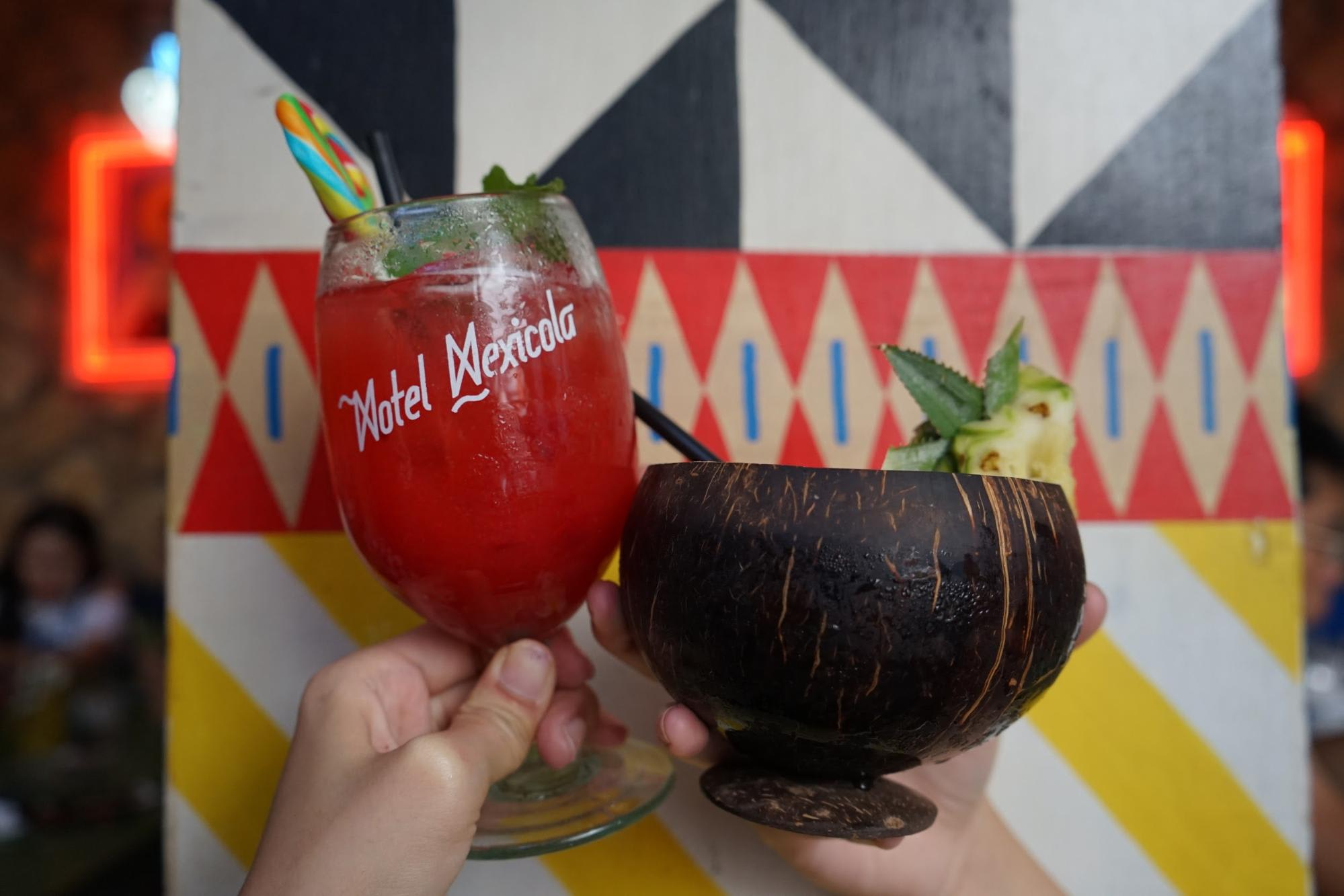 mocktail tại Motel Mexicola