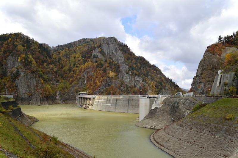đập nước tại Jozankei