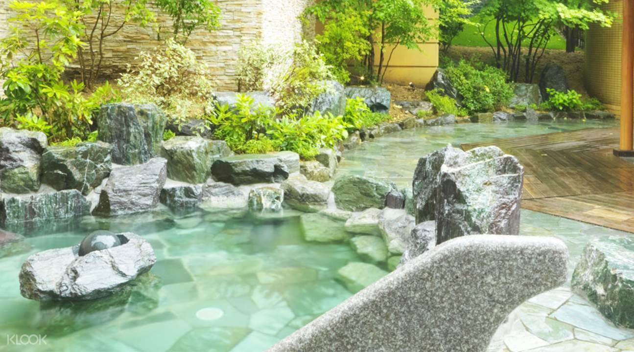 suối nước nóng Jozankei