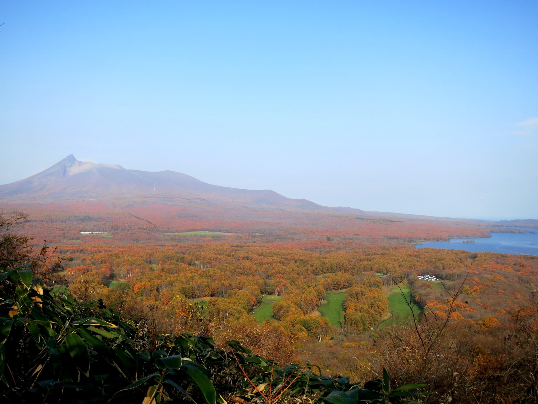 công viên quốc gia onuma nhìn từ trên cao