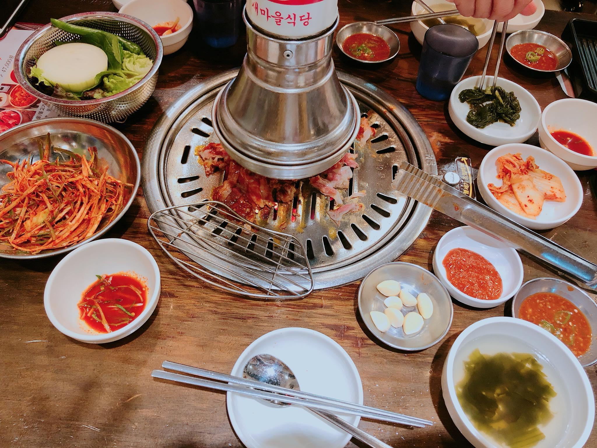 ăn thịt nướng ở seoul