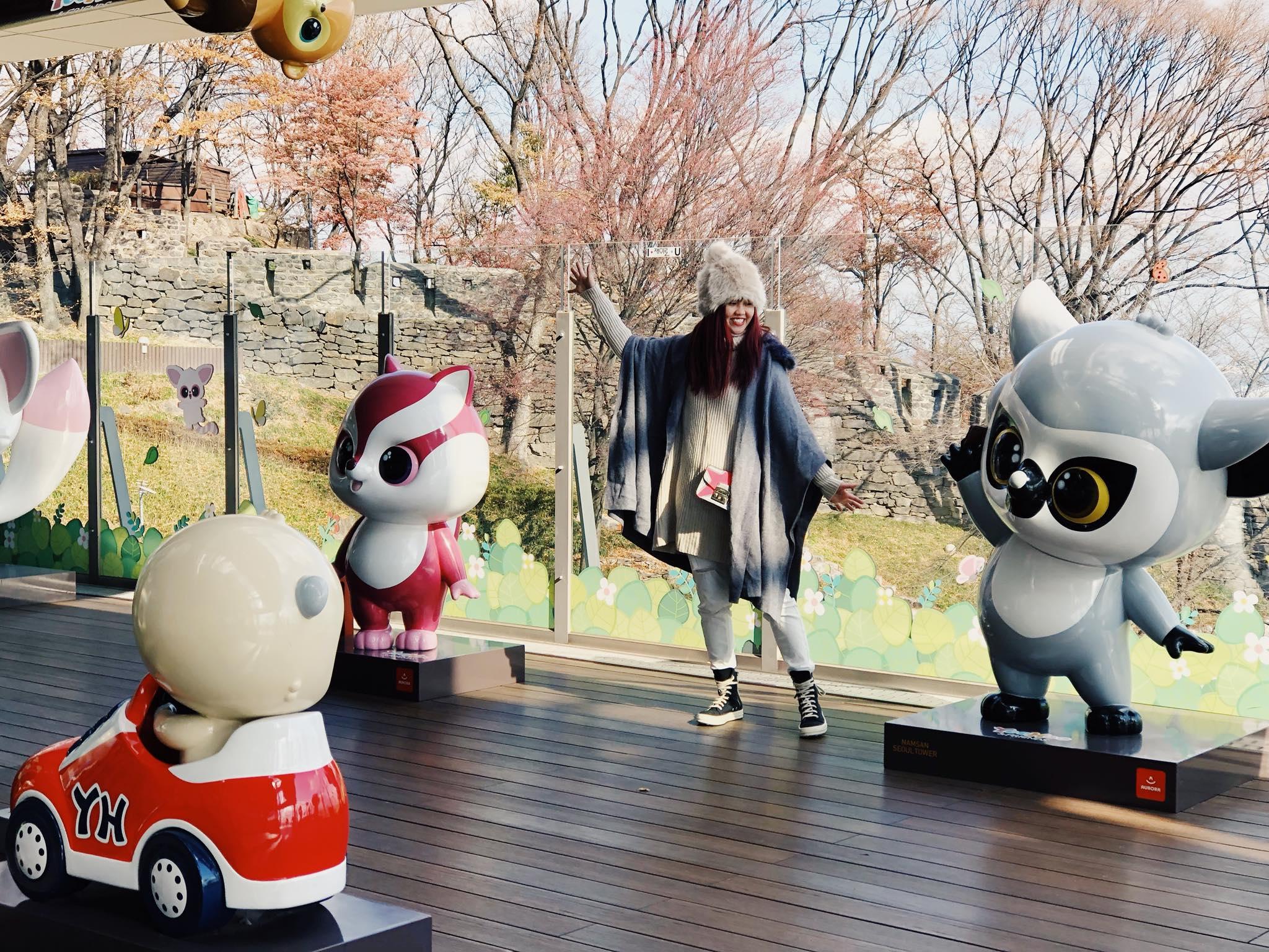 tượng các con thú tại seoul