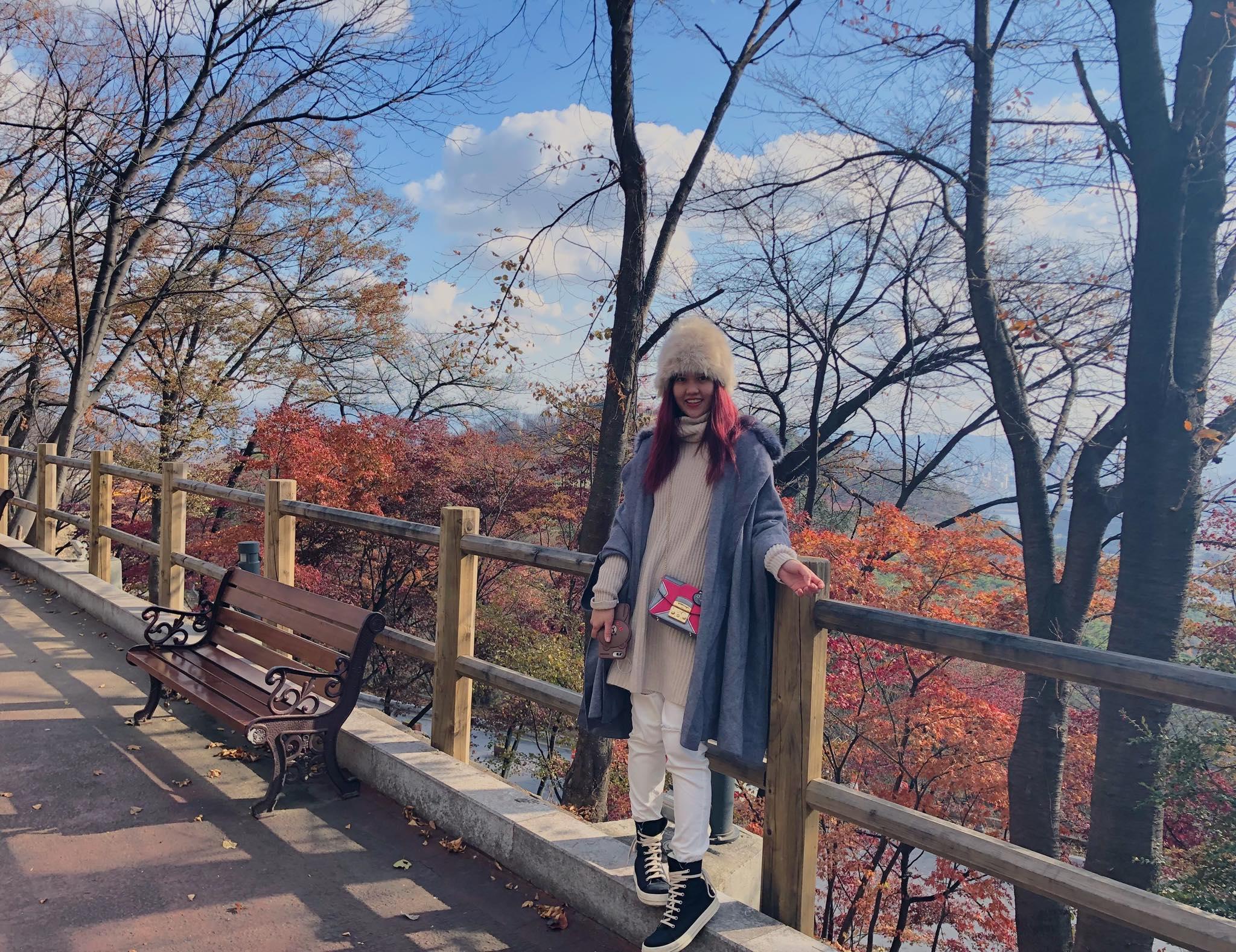 một góc khu phố seoul