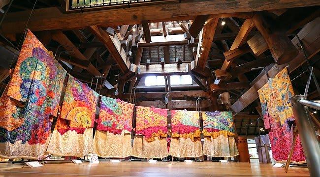 bên trong bảo tàng nghệ thuật Itchiku Kubota
