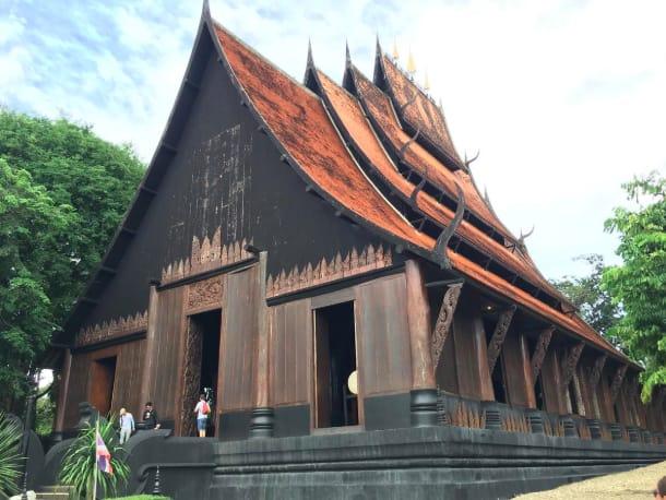 chùa đen tại chiang mai