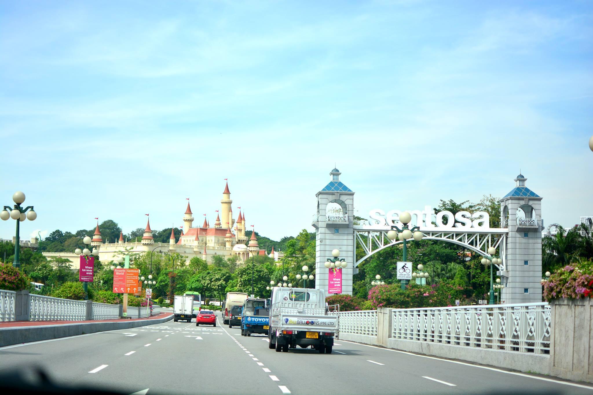 đường đi đến marina square shopping mall
