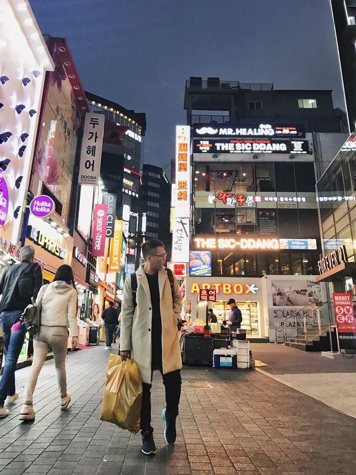 phố mua sắm myeongdong