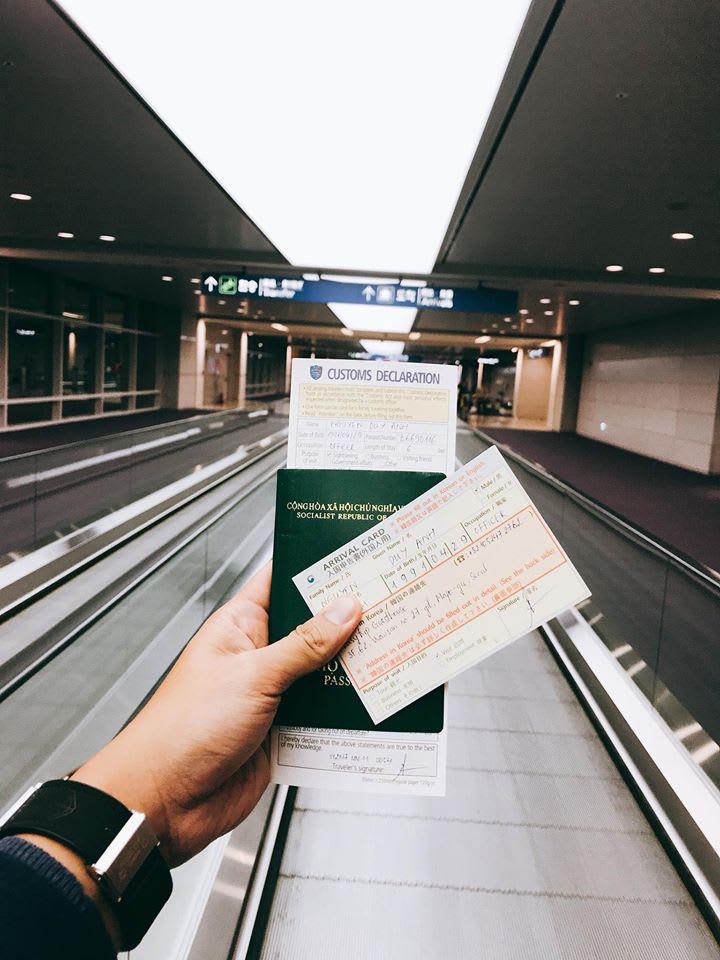 thẻ nhập cảnh hàn quốc