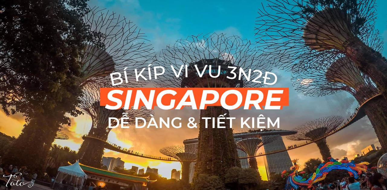 Hành trình 3 ngày sống ảo nghìn like ở Singapore 1
