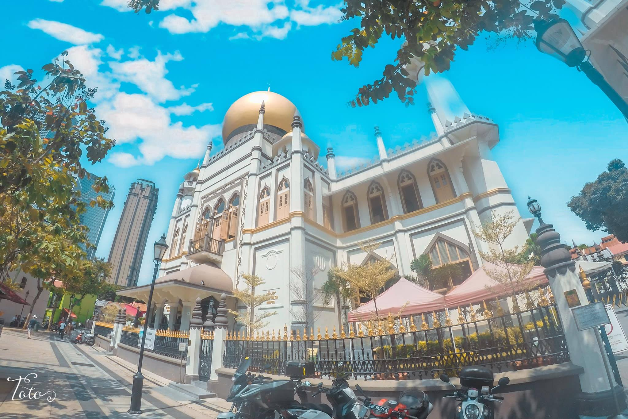 đền thờ hồi giáo tại little india