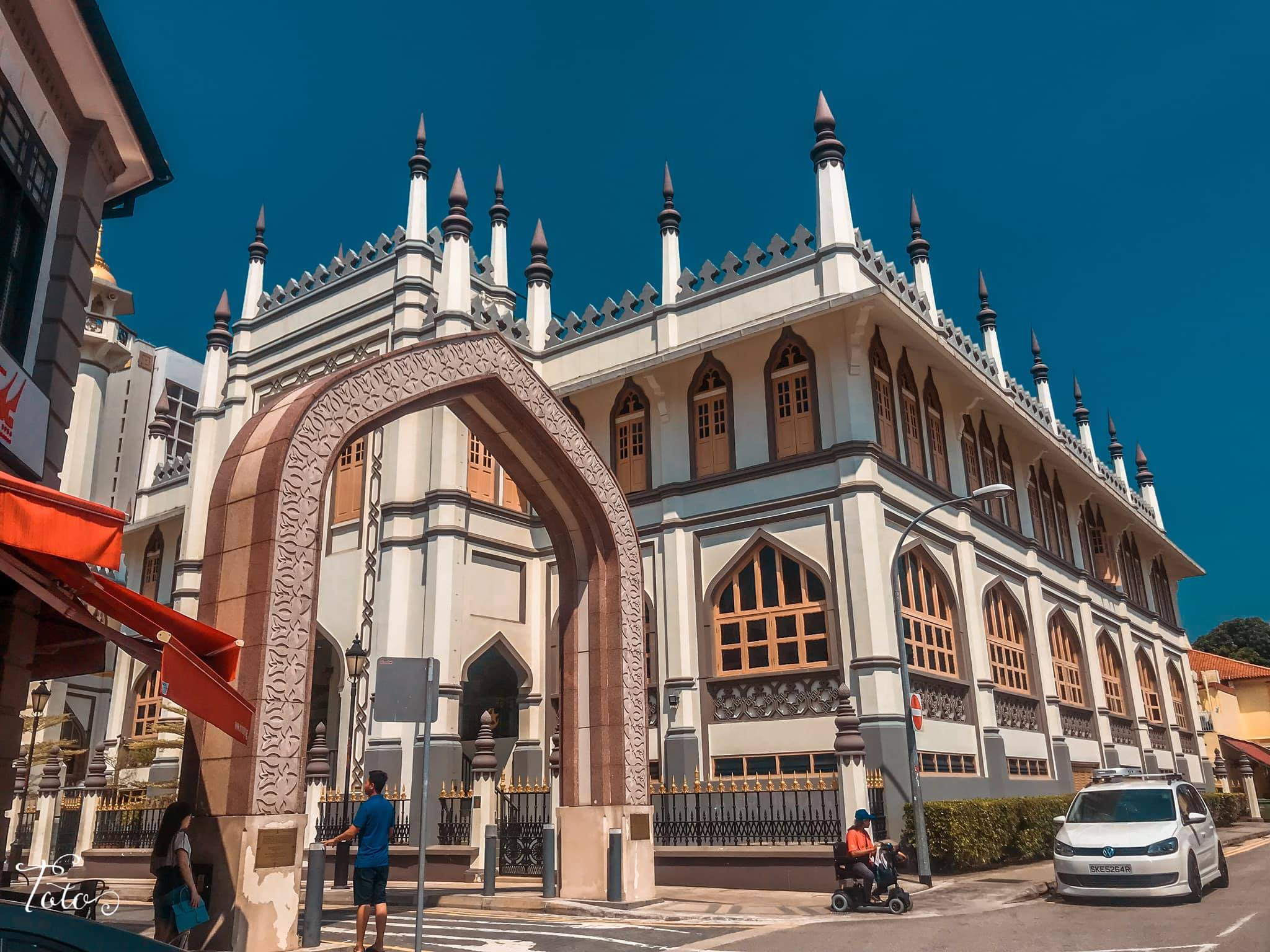kiến trúc hồi giáo tại little india
