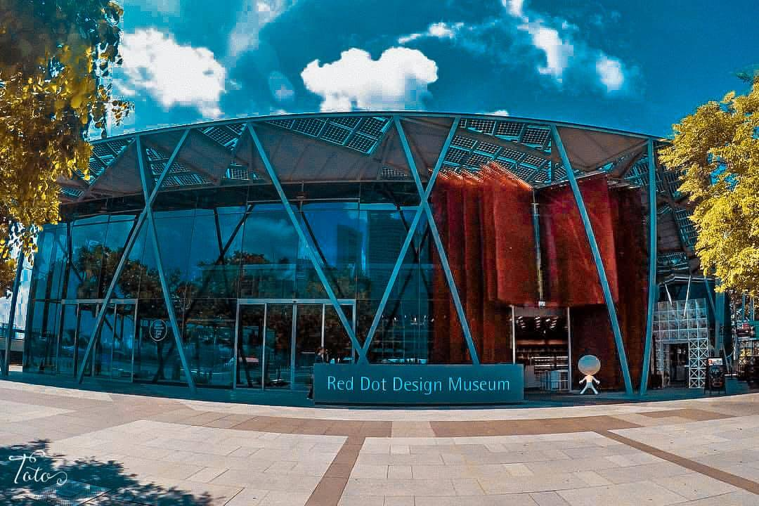 cổng bảo tàng red dot design museum