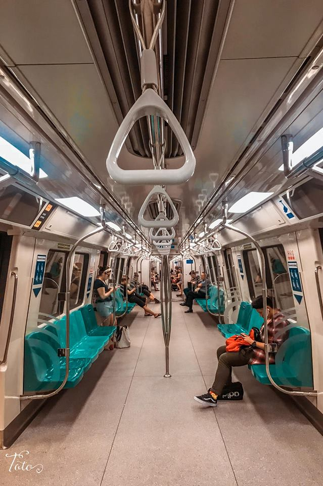 tàu điện MRT Singapore