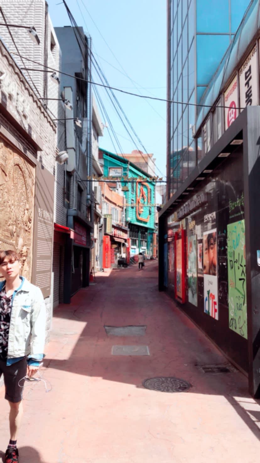 phố chuncheon myeongdong