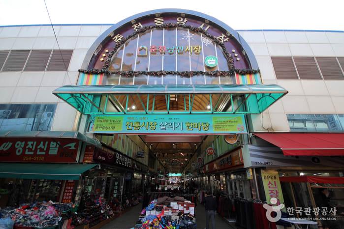 cổng chợ chuncheon romantic