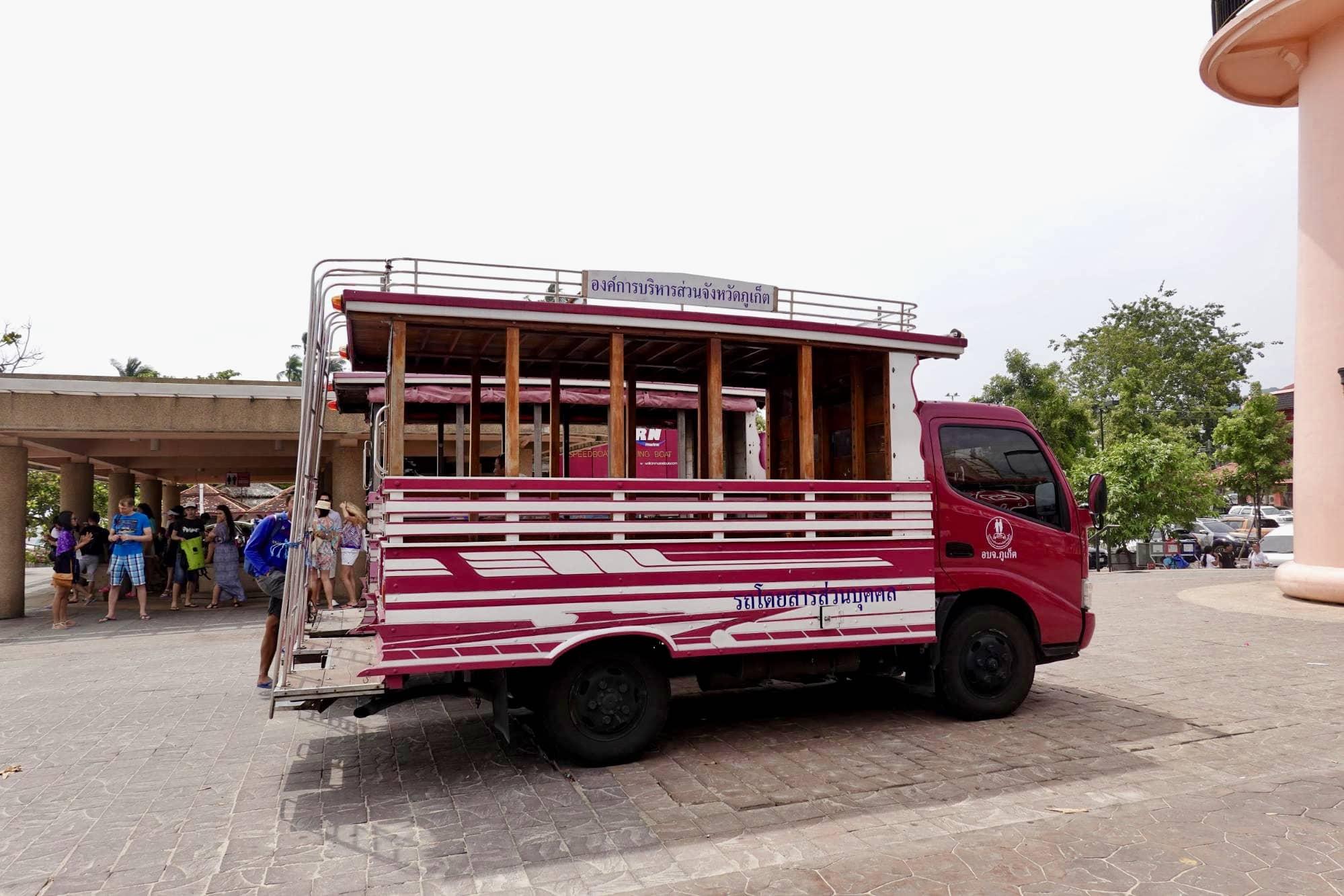 xe tuk tuk tại phuket
