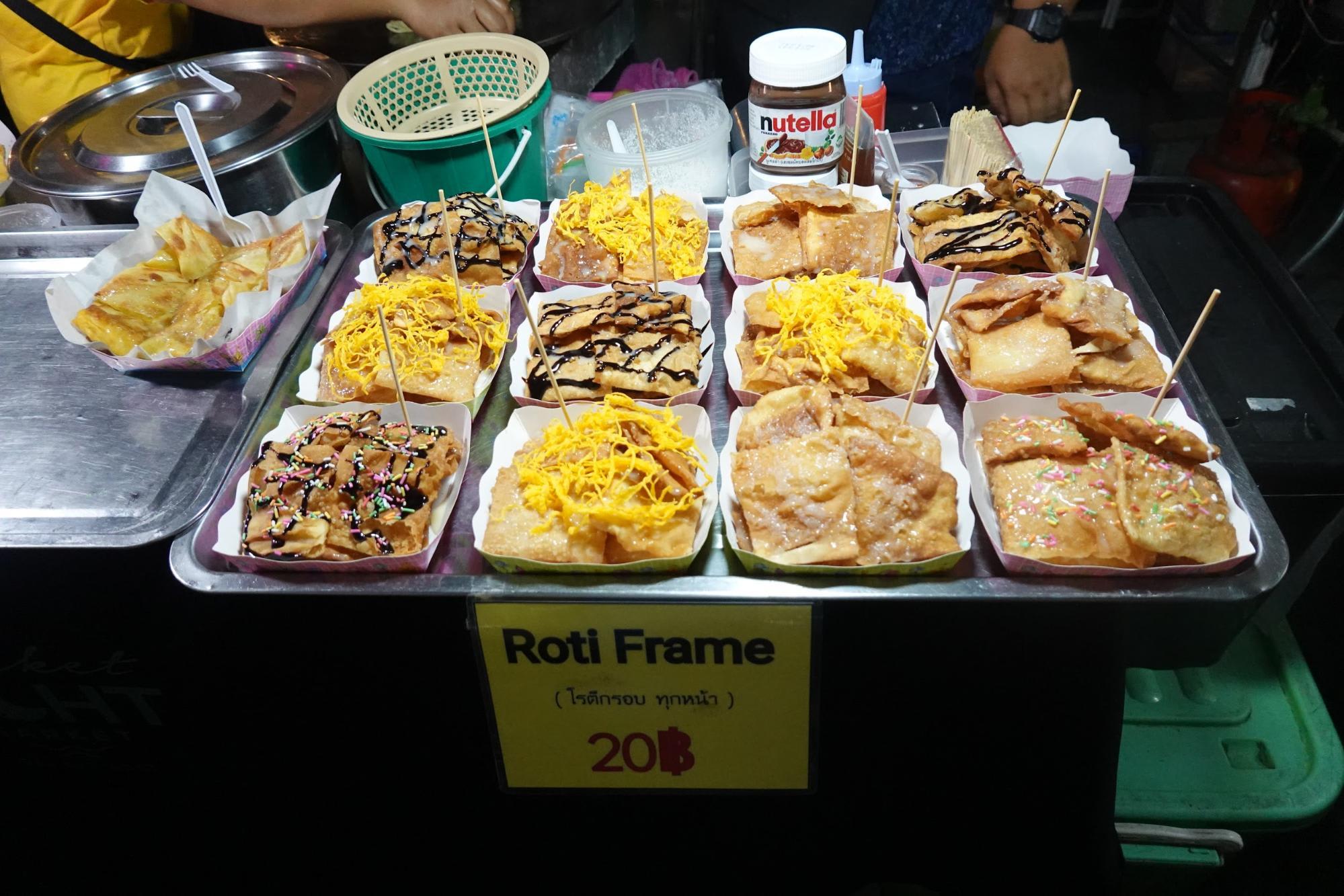 thức ăn tại chợ đêm phuket