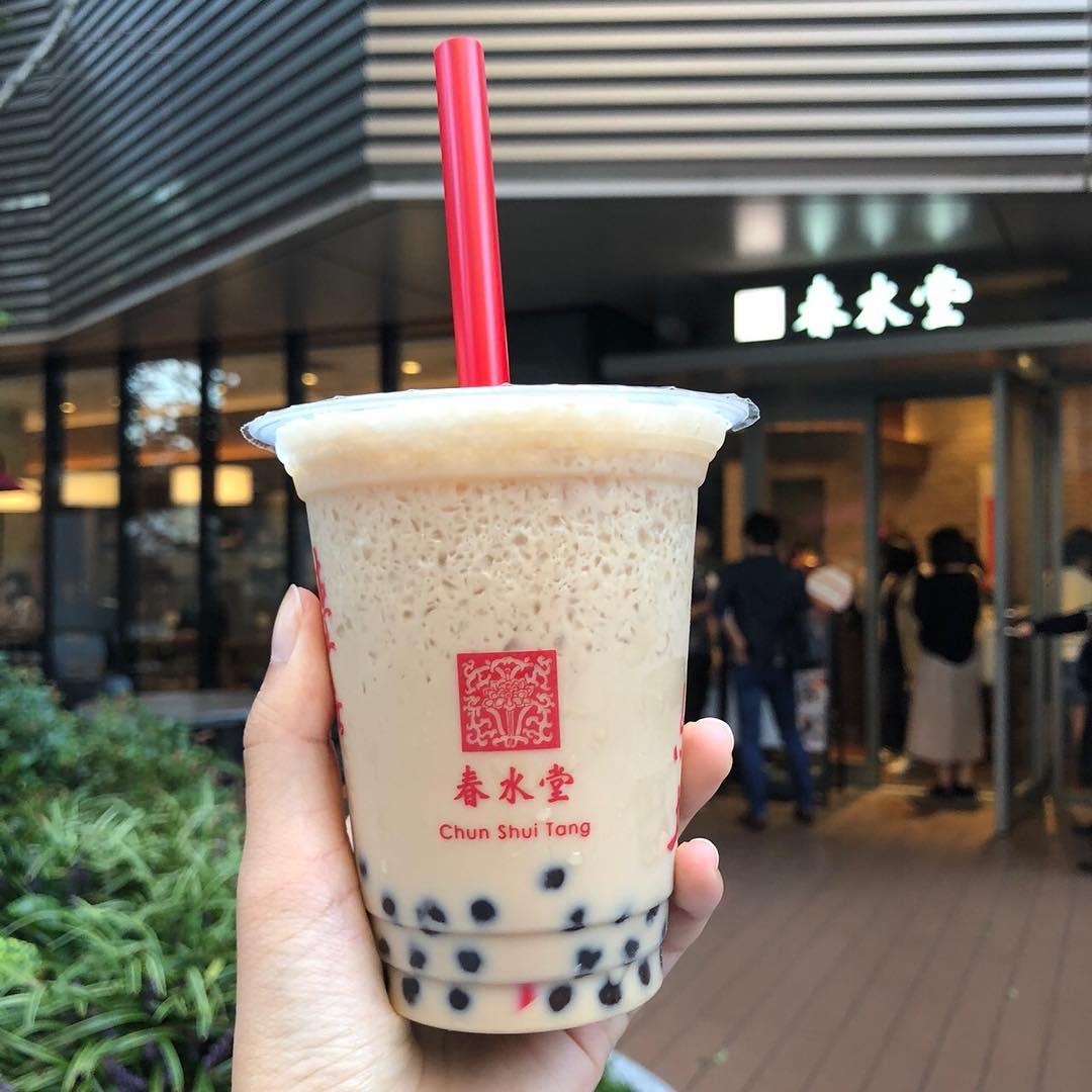 original peark milk tea tại chun shui tang