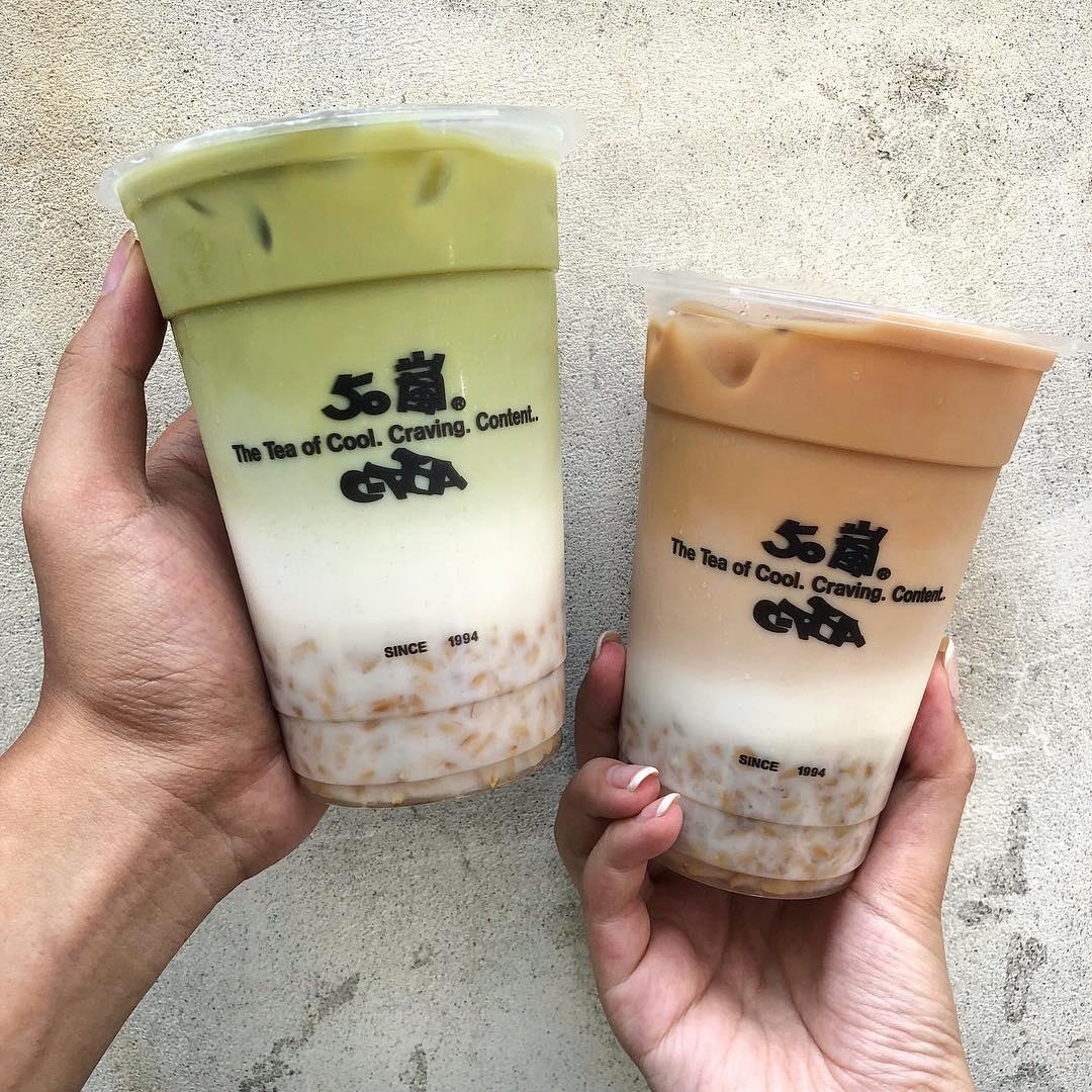 oatmeal tea tại 50 lan