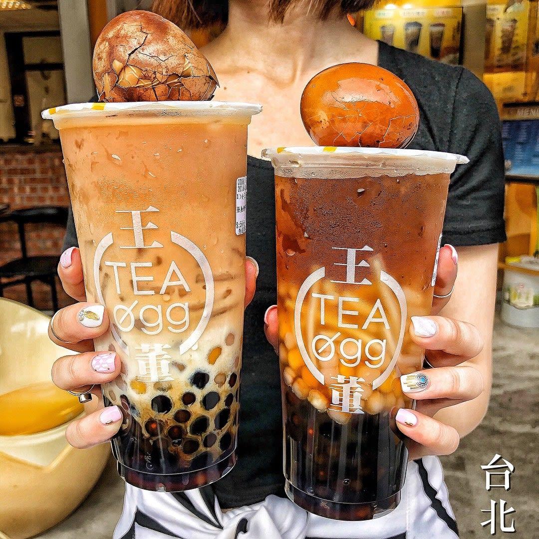 trà sữa trứng tại wangtea egg