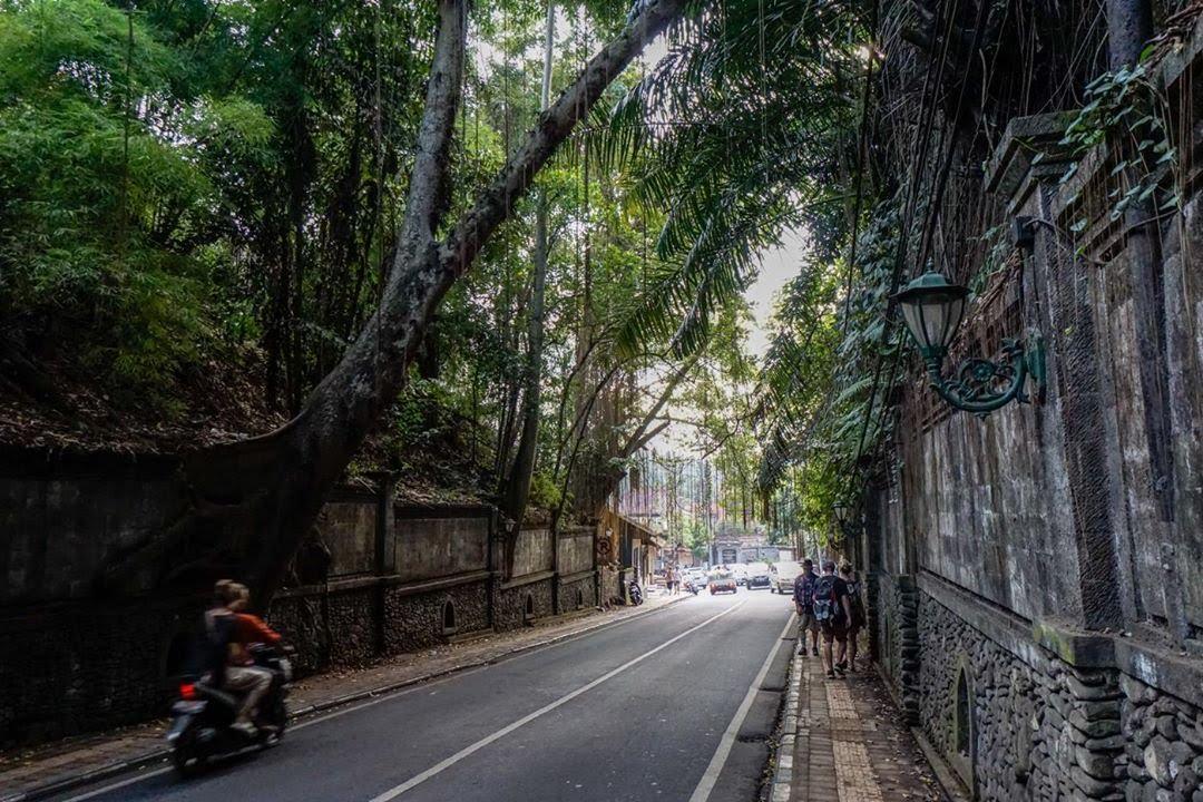 đường phố tại ubud