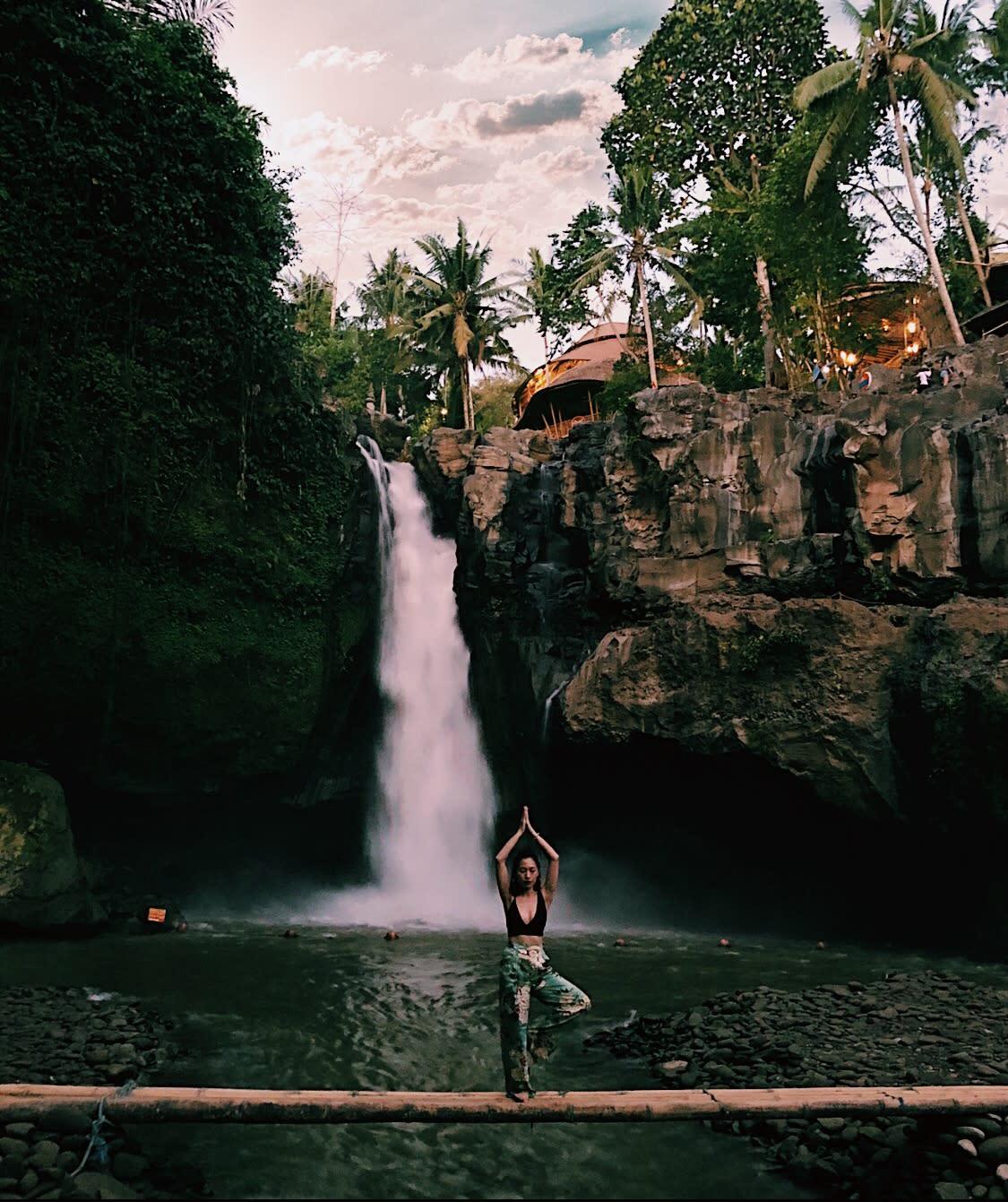 thác nước tegenungan