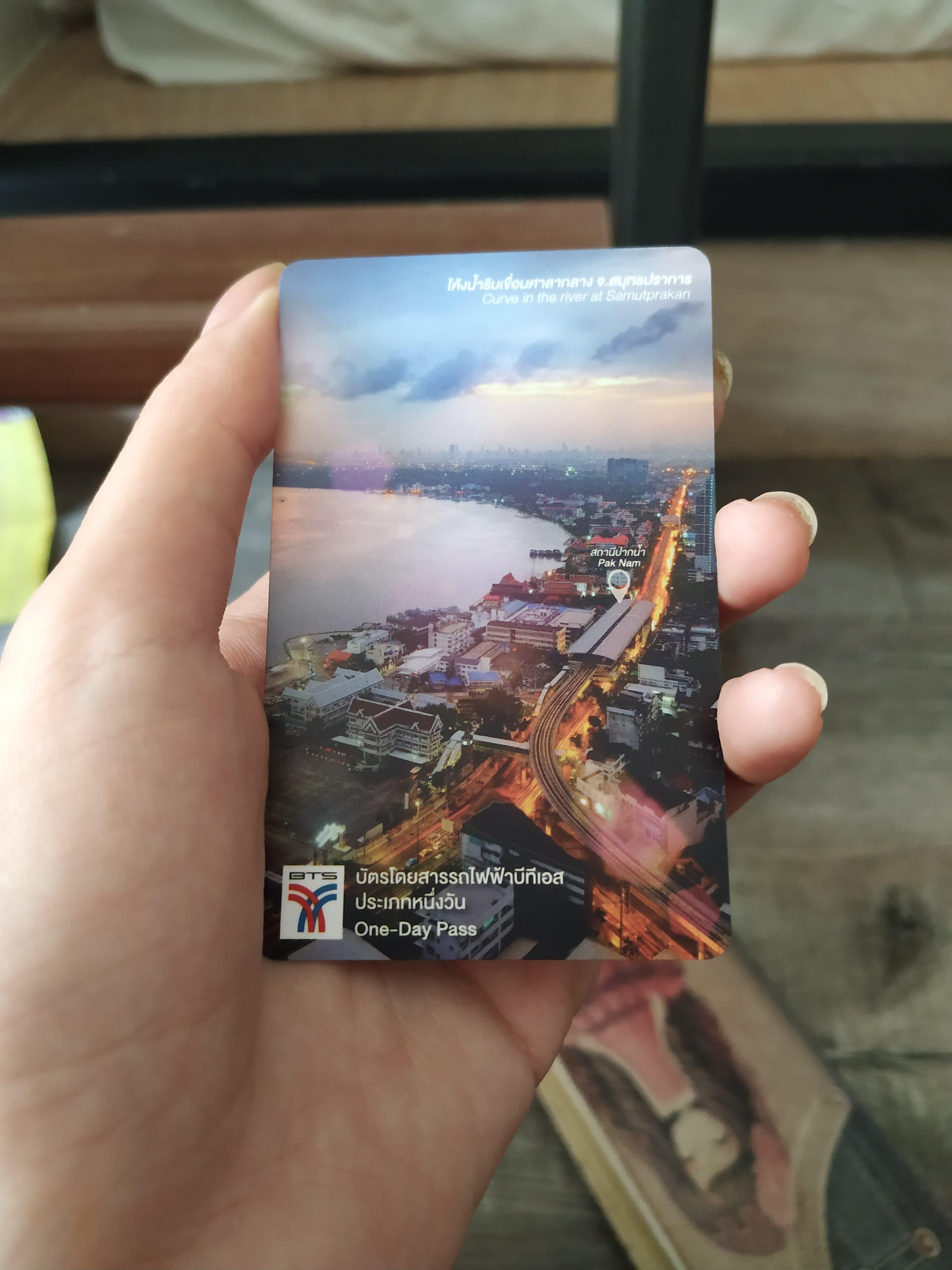 thẻ tàu điện BTS