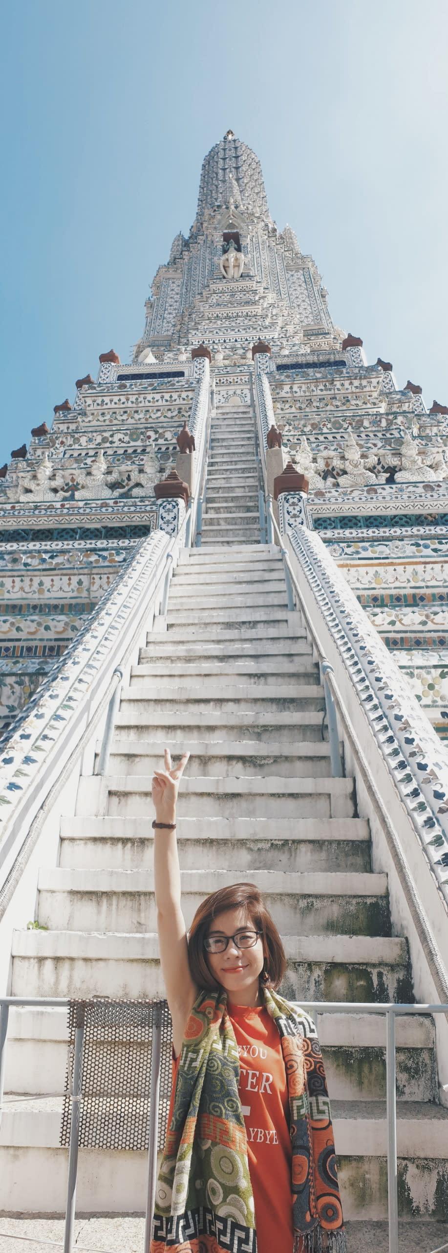 tháp chùa wat arun