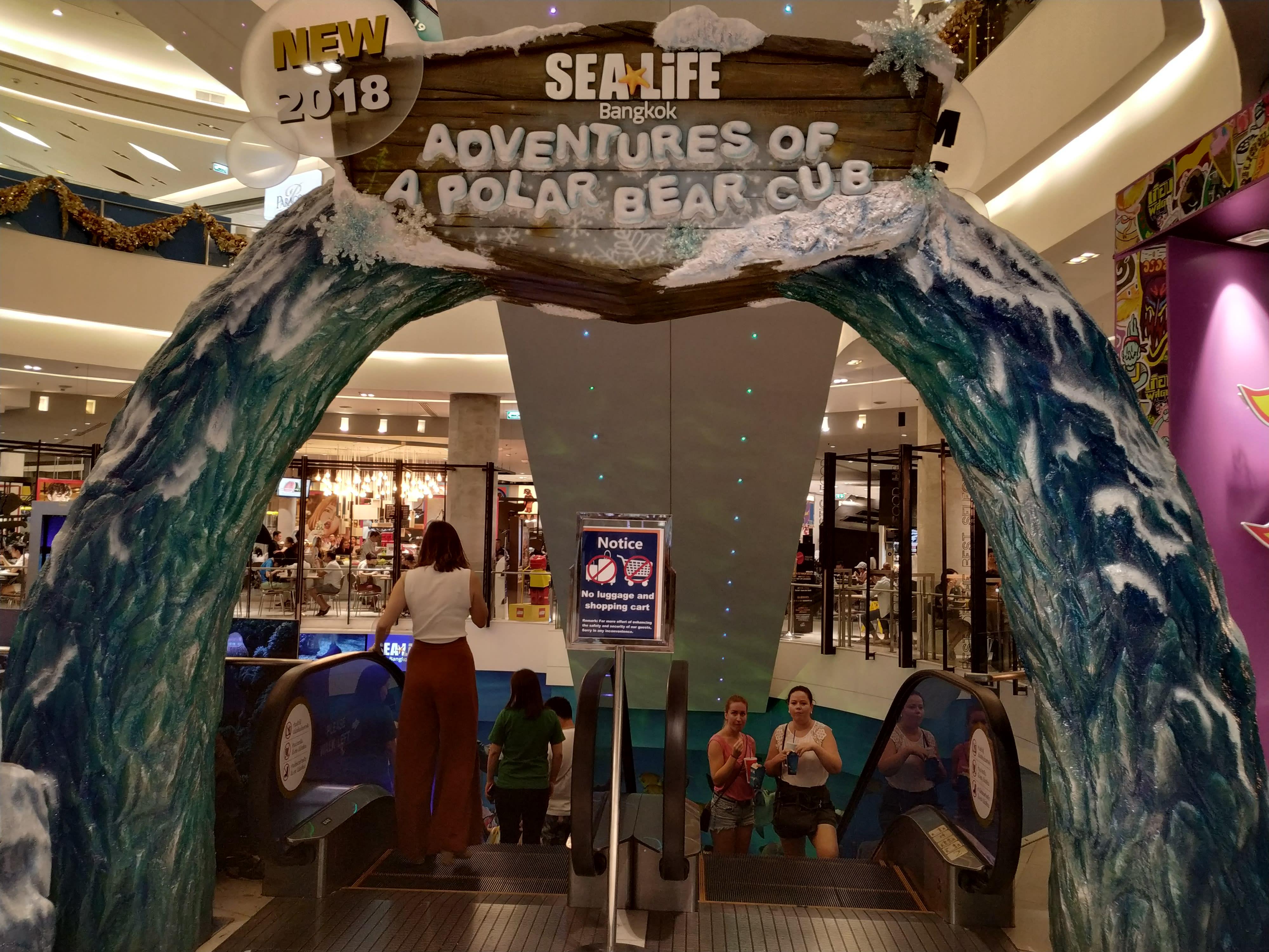 cổng sea life bangkok