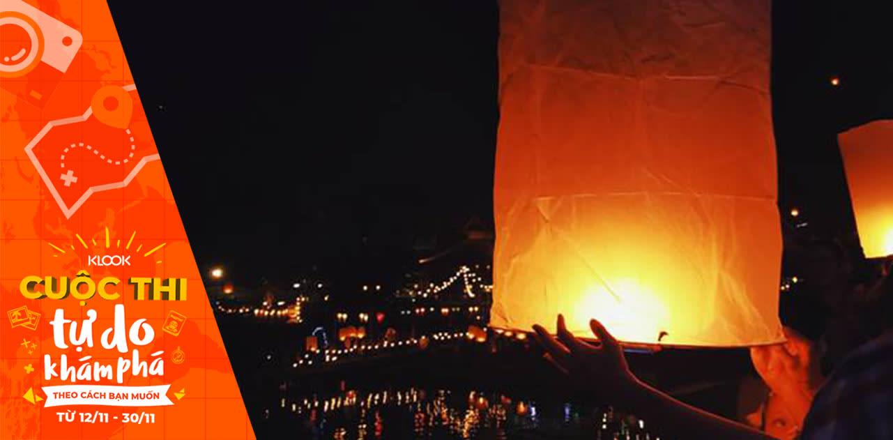 """""""Quẩy banh nóc"""" Bangkok với lễ hội Loy Krathong 2018 1"""