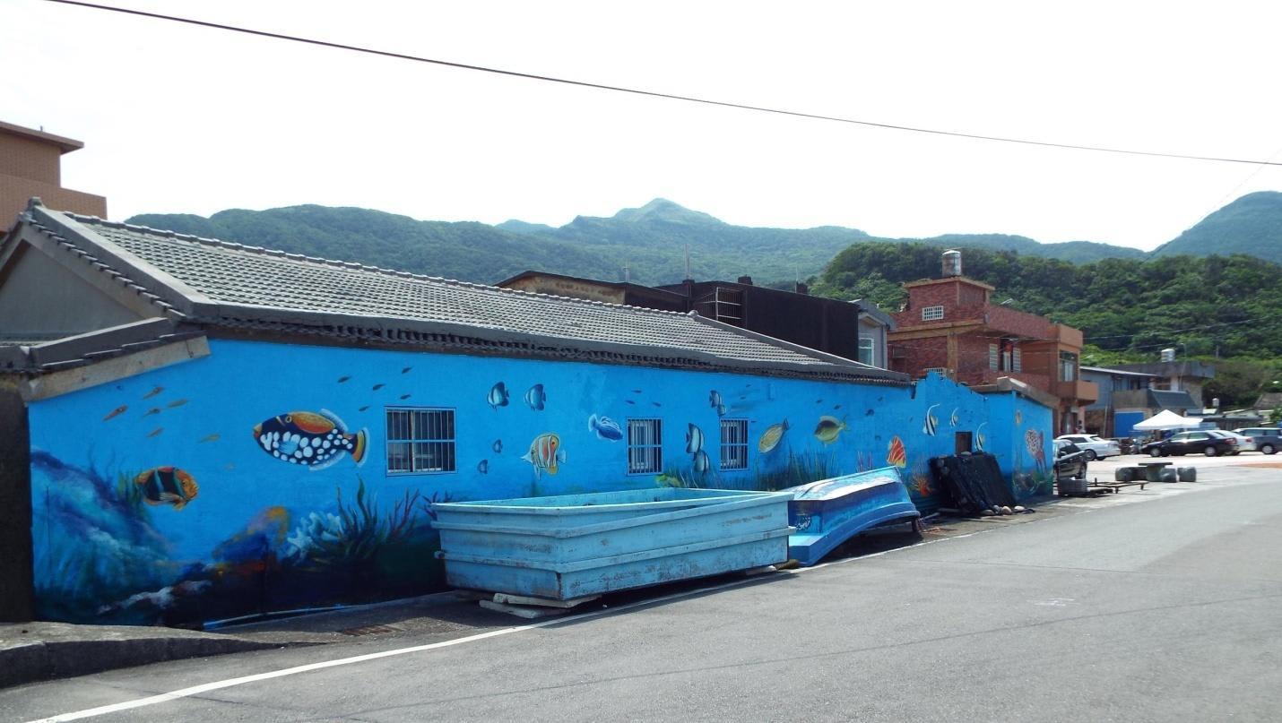 ngôi nhà xanh ở làng chài