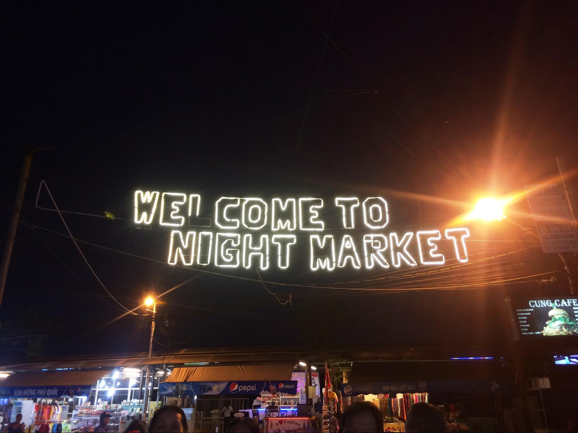 chợ đêm tại phú quốc