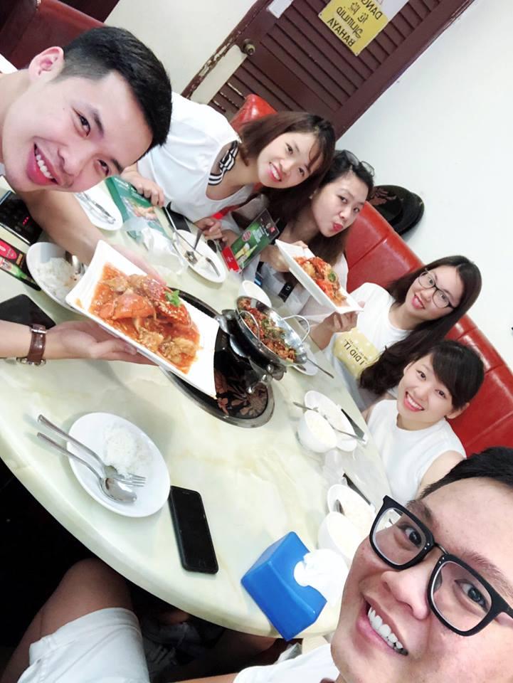 quán ăn tại chinatown