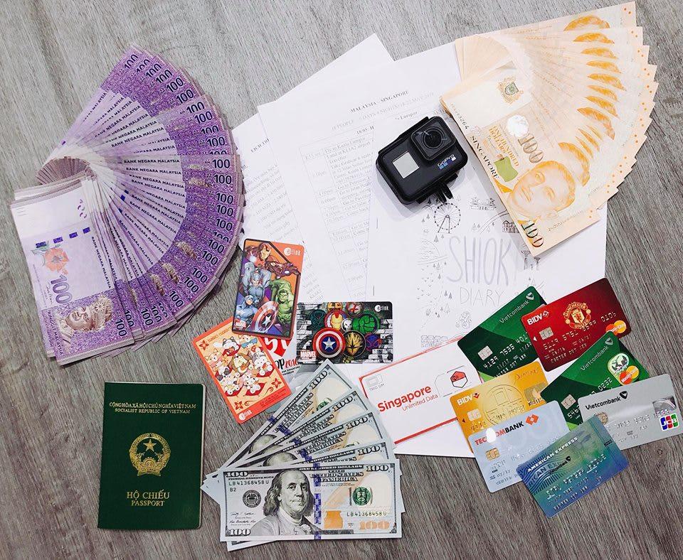 đổi tiền ringgit và singapore dollar