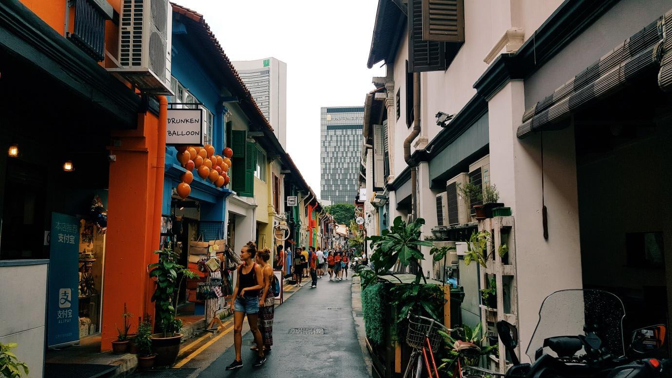 phố hại lane singapore